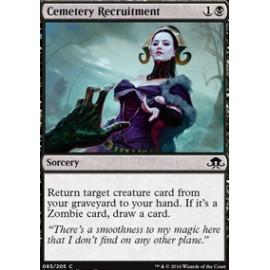 Cemetery Recruitment