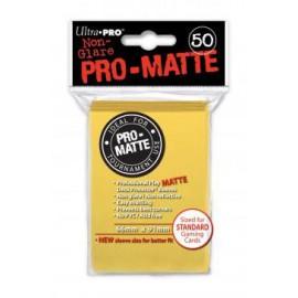 Koszulki PRO-MATTE Żółte 50szt. - Ultra Pro