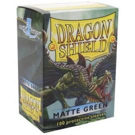 Koszulki Dragon Shield Matowe Zielone 100 szt.