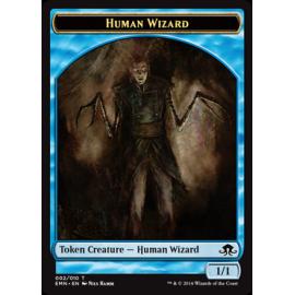 Human Wizard Token  02 - EMN