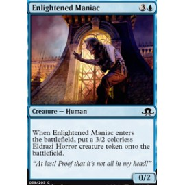 Enlightened Maniac FOIL
