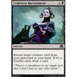 Cemetery Recruitment FOIL