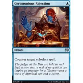 Ceremonious Rejection