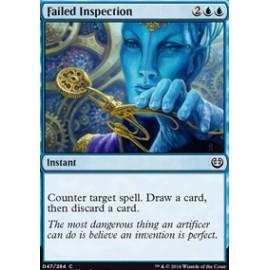 Failed Inspection