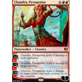 Chandra, Pyrogenius