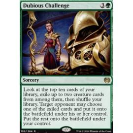 Dubious Challenge FOIL