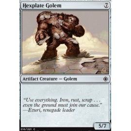 Hexplate Golem