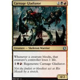 Carnage Gladiator FOIL