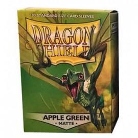 Koszulki Dragon Shield Matowe Zielone Jabłko 100 szt.