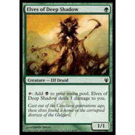 Elves of Deep Shadow (DD: Izzet vs. Golgari)