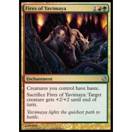 Fires of Yavimaya (DD: Heroes vs. Monsters)