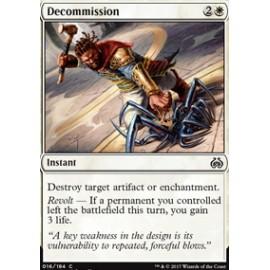 Decommission