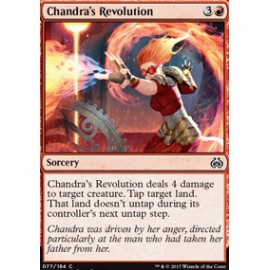 Chandra's Revolution FOIL