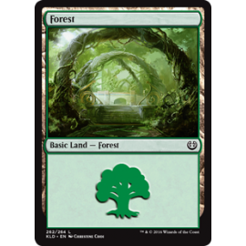 Forest Kaladesh FOIL 262