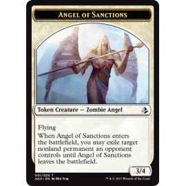Angel of Sanctions 3/4 Token 01 - AKH