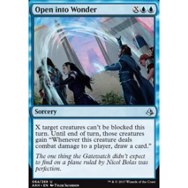 Open into Wonder FOIL