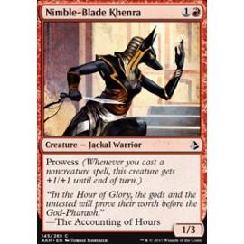 Nimble-Blade Khenra FOIL