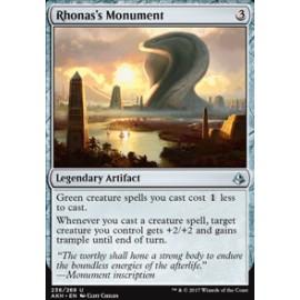 Rhonas's Monument FOIL