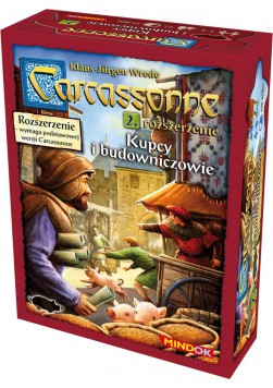 Carcassonne: Kupcy i Budowniczowie