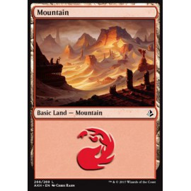 Mountain Amonkhet FOIL 266