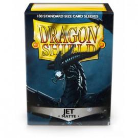 Koszulki Dragon Shield Matowe Jet 100 szt.
