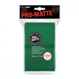 Koszulki PRO-MATTE Zielone 100 szt. - Ultra Pro