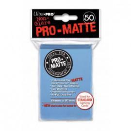 Koszulki Lekko PRO-MATTE Niebieskie 50 szt. - Ultra Pro