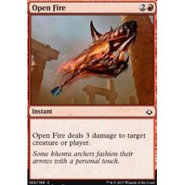 Open Fire FOIL