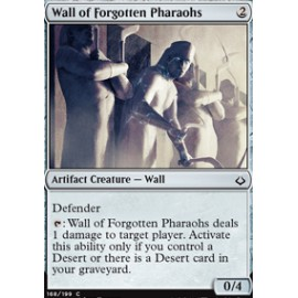 Wall of Forgotten Pharaohs FOIL