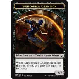 Sunscourge Champion 4/4 Token - HOU