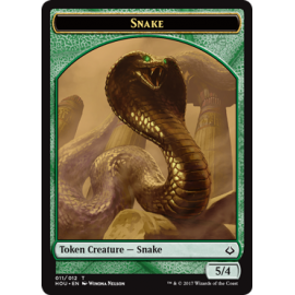 Snake 5/4 Token - HOU