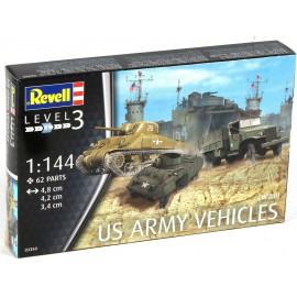 US Army Vehicles WW II