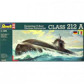 New German Submarine U 212 A