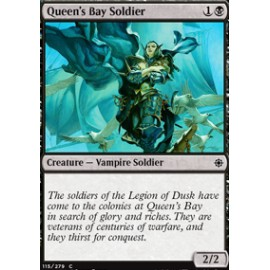 Queen's Bay Soldier