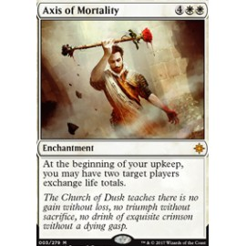 Axis of Mortality FOIL
