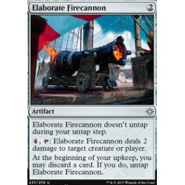 Elaborate Firecannon FOIL
