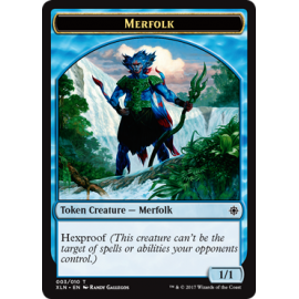 Merfolk 1/1 Token 03 - XLN
