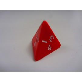 Kostka K4 - czerwona