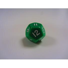 Kostka K12 - zielona