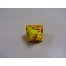 Kostka K8 - Toxic żółta - JUMBO