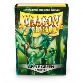 Koszulki Dragon Shield Matowe Zielone Jabłko 60 szt.