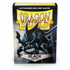 Koszulki Dragon Shield Matowe Czarne 60 szt.