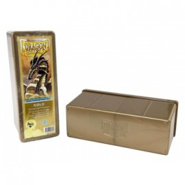 Pudełko Dragon Shield na 240 kart - złote