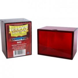 Pudełko Dragon Shield na 100 kart - czerwone