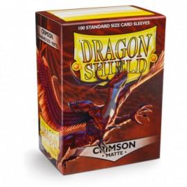 Koszulki Dragon Shield Matowy Crimson 100 szt.