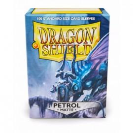 Koszulki Dragon Shield Matowy Petrol 100 szt.