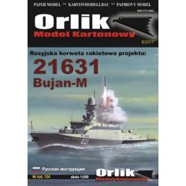 124. Rosyjska korweta rakietowa pr. 21631 BUJAN-M