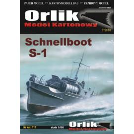 117. Schnellboot S-1
