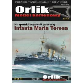 "116. Hiszpański krążownik pancerny ""Infanta Maria Teresa"""