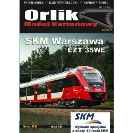 "A032. SKM Warszawa EZT 35WE ""Impuls"""